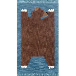 Atticus Teddy Bear Rectangular: 4 Ft. x 6 Ft. Rug