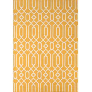 Baja Links Yellow Rectangular: 6 Ft. 7 In. x 9 Ft. 6 In. Rug