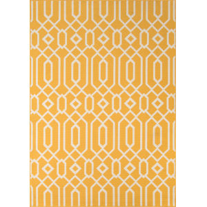 Baja Links Yellow Rectangular: 8 Ft. 6 In. x 13 Ft. Rug