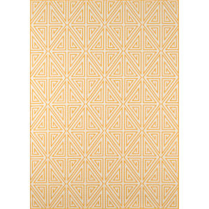 Baja Diamonds Yellow Rectangular: 8 Ft. 6 In. x 13 Ft. Rug