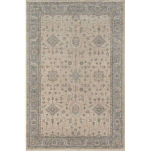 Banaras Beige Rectangular: 3 Ft. 9 In. x 5 Ft. 9 In. Rug