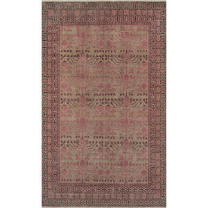 Banaras Pink Rectangular: 3 Ft. 9 In. x 5 Ft. 9 In. Rug