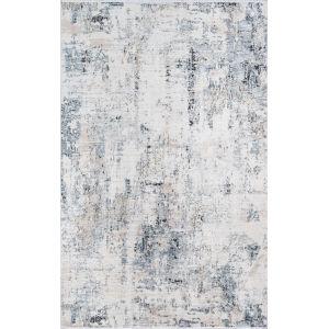 Bergen Blue Abstract Rectangular: 9 Ft. x 12 Ft. Rug