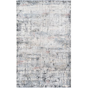 Bergen Abstract Multicolor Rectangular: 5 Ft. x 8 Ft. Rug