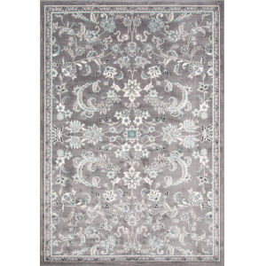 Brooklyn Heights Gray Rectangular: 9 Ft. 3 In. x 12 Ft. 6 In. Rug