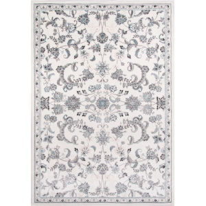 Brooklyn Heights Floral Ivory Rectangular: 5 Ft. 3 In. x 7 Ft. 6 In. Rug