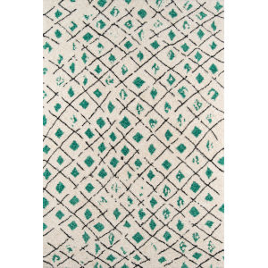 Bungalow Green Rectangular: 9 Ft. x 12 Ft. Rug