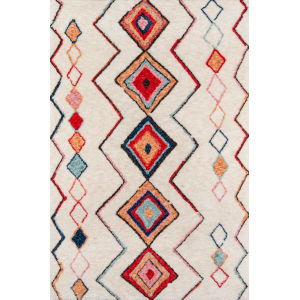 Bungalow Olivia Multicolor Rectangular: 7 Ft. 6 In. x 9 Ft. 6 In. Rug