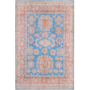 Chandler Blue Rectangular: 5 Ft. 6 In. x 8 Ft. 6 In. Rug