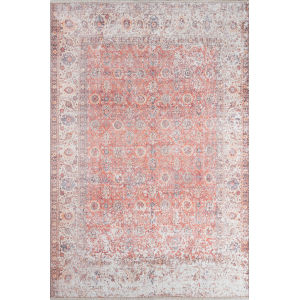 Chandler Oriental Red Rectangular: 7 Ft. 6 In. x 9 Ft. 6 In. Rug