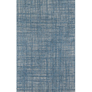 Como Geometric Blue Rectangular: 9 Ft. 10 In. x 13 Ft. 2 In. Rug