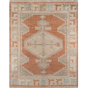 Concord Rust Rectangular: 5 Ft. 6 In. x 8 Ft. 6 In. Rug