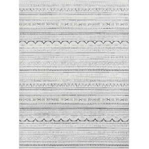 Covington Fair Isle Ivory Rectangular: 7 Ft. 10 In. x 9 Ft. 10 In. Rug