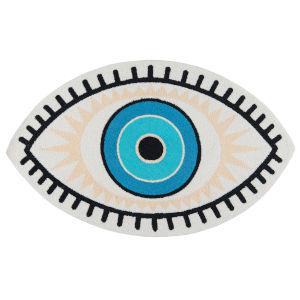 Cucina Blue Eye Rectangular: 2 Ft. x 3 Ft. Rug
