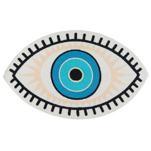Cucina Blue Eye Rectangular: 3 Ft. x 5 Ft. Rug