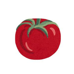 Cucina Red Rectangular: 2 Ft. 6 In. x 2 Ft. 9 In. Rug