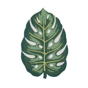 Cucina Green Rectangular: 3 Ft. x 4 Ft. 6 In. Rug