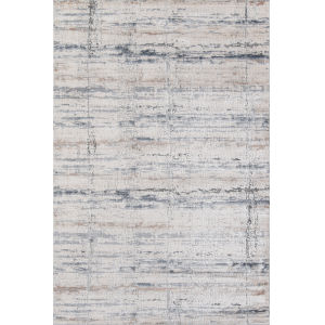 Dalston Gray Marble Rectangular: 5 Ft. 3 In. x 7 Ft. 6 In. Rug