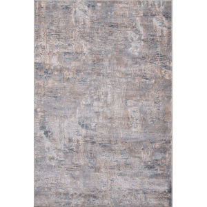 Dalston Marble Gray Rectangular: 6 Ft. 7 In. x 9 Ft. 6 In. Rug