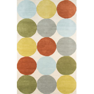 Delmar Multicolor Rectangular: 8 Ft. x 10 Ft. Rug