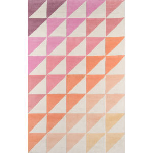 Delmar Pink Rectangular: 8 Ft. x 10 Ft. Rug