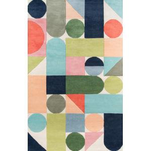 Delmar Wright Multicolor Rectangular: 9 Ft. x 12 Ft. Rug