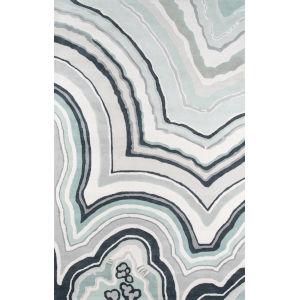 Delmar Agate Blue Rectangular: 5 Ft. x 8 Ft. Rug