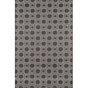Downeast Camden Charcoal Rectangular: 3 Ft. 11 In. x 5 Ft. 7 In. Rug