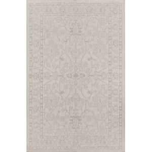 Downeast Gray Rectangular: 3 Ft. 11 In. x 5 Ft. 7 In. Rug