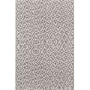 Downeast Wells Charcoal Rectangular: 6 Ft. 7 In. x 9 Ft. 6 In. Rug