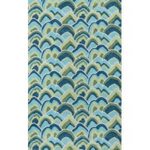 Embrace Adventure Green Rectangular: 5 Ft. x 8 Ft. Rug