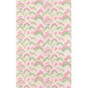 Embrace Adventure Pink Rectangular: 5 Ft. x 8 Ft. Rug