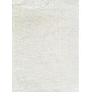 Enchanted Shag White Rectangular: 5 Ft. x 7 Ft. Rug