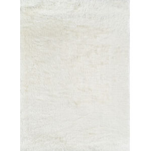 Enchanted Shag White Rectangular: 7 Ft. 6 In. x 9 Ft. 6 In. Rug