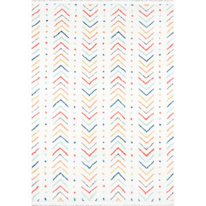 Ferris Multicolor Rectangular: 5 Ft. 3 In. x 7 Ft. 2 In. Rug