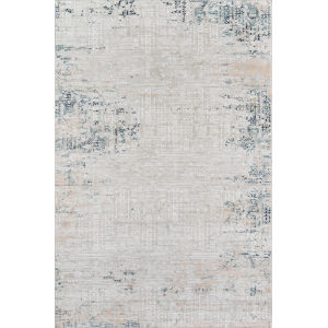 Genevieve Silver Rectangular: 5 Ft. 1 In. x 7 Ft. 7 In. Rug
