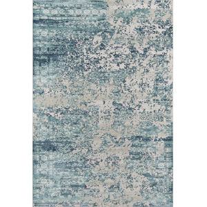 Genevieve Blue Rectangular: 7 Ft. 9 In. x 9 Ft. 10 In. Rug