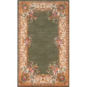 Harmony Sage Rectangular: 3 Ft. 6 In. x 5 Ft. 6 In. Rug