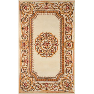 Harmony Ivory Rectangular: 3 Ft. 6 In. x 5 Ft. 6 In. Rug
