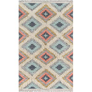 Indio Templin Multicolor Runner: 2 Ft. 3 In. x 7 Ft. 10 In.