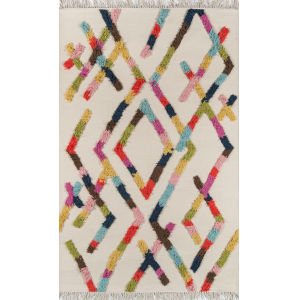 Indio Ramona Multicolor Rectangular: 2 Ft. x 3 Ft. Rug
