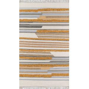 Indio Mustard Rectangular: 7 Ft. 6 In. x 9 Ft. 6 In. Rug