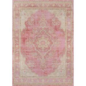 Isabella Medallion Pink Rectangular: 4 Ft. x 6 Ft. Rug