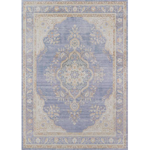 Isabella Periwinkle Rectangular: 7 Ft. 10 In. x 10 Ft. 6 In. Rug
