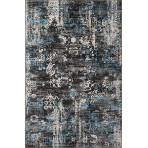 Juliet Charcoal Rectangular: 8 Ft. 6 In. x 11 Ft. 6 In. Rug