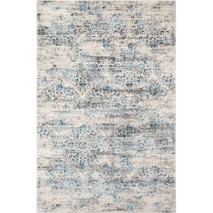 Juliet Distressed Blue Rectangular: 8 Ft. 6 In. x 11 Ft. 6 In. Rug
