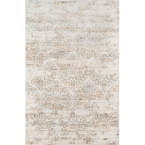 Juliet Ivory Distressed Rectangular: 8 Ft. 6 In. x 11 Ft. 6 In. Rug