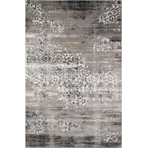Juliet Gray Rectangular: 7 Ft. 6 In. x 9 Ft. 6 In. Rug
