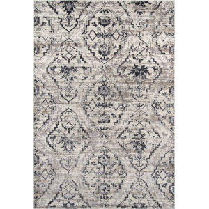Juliet Damask Ivory Rectangular: 5 Ft. x 7 Ft. 6 In. Rug