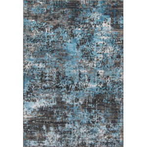 Juliet Abstract Charcoal Rectangular: 7 Ft. 6 In. x 9 Ft. 6 In. Rug